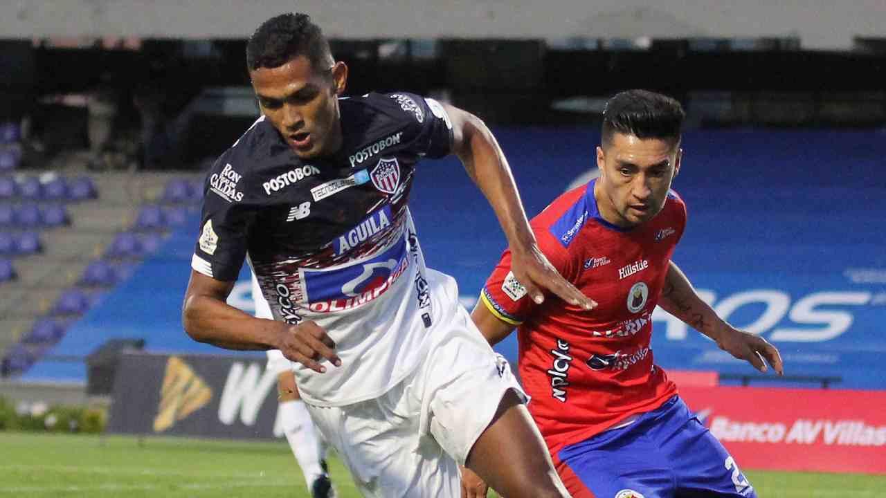 Junior de Barranquilla empató, pero prácticamente aseguró su clasificación
