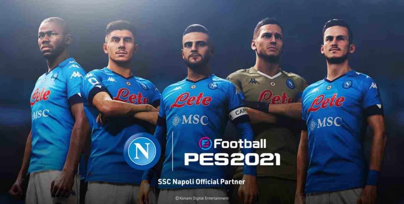 Konami firma un acuerdo de licencia con el Napoli