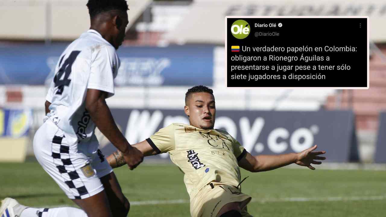 Lo que dice la prensa internacional por el juego entre Águilas Doradas vs. Boyacá Chicó