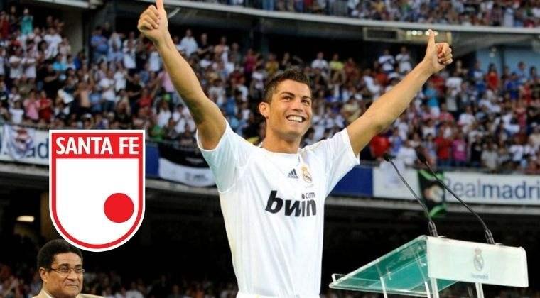 Lo que tiene que ver Santa Fe con la llegada de Cristiano Ronaldo al Real Madrid