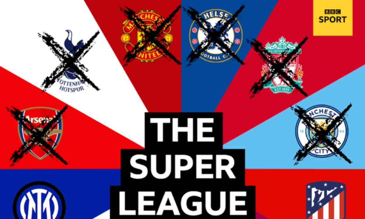 Los equipos del 'Big Six' inglés se bajan de la Superliga europea