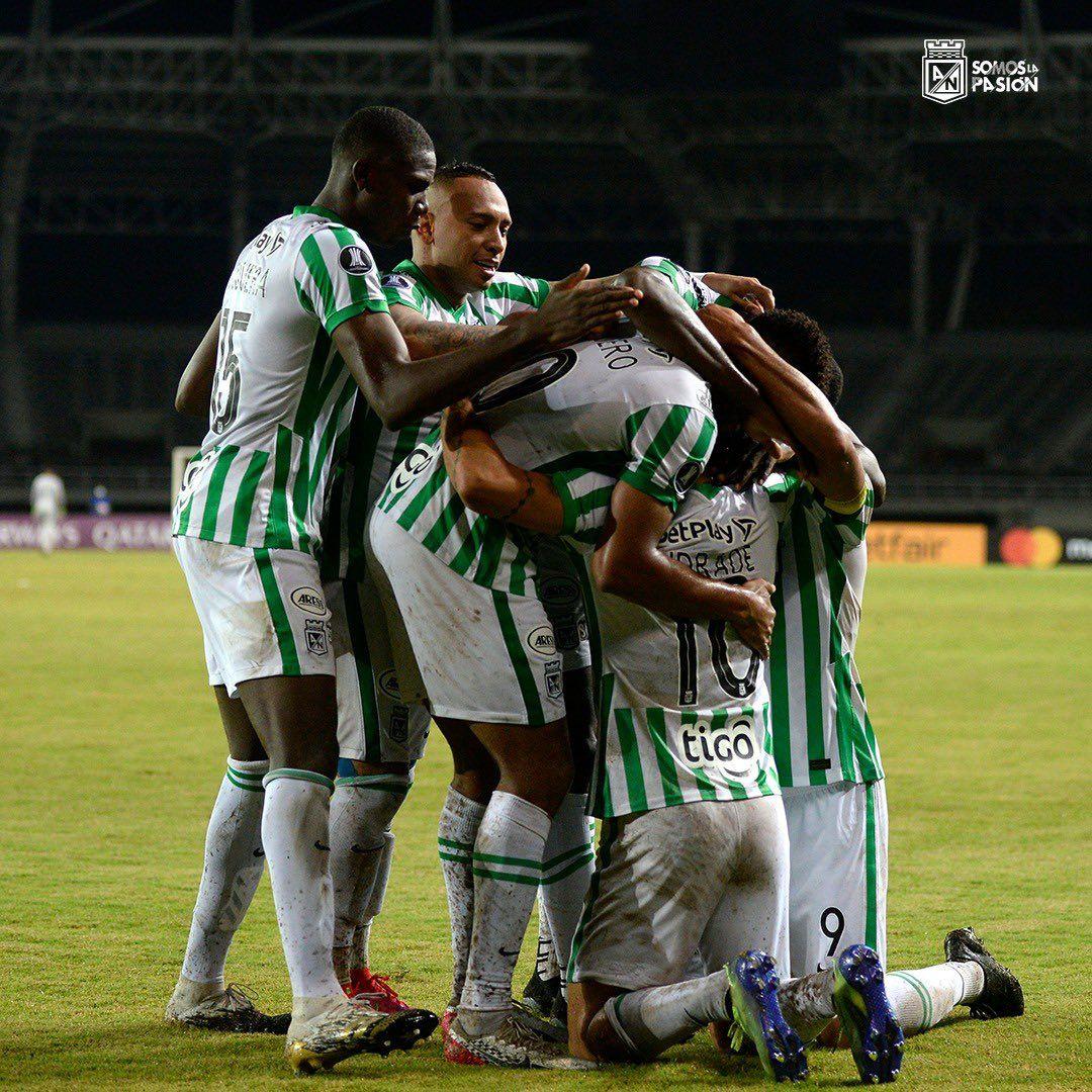 Atlético Nacional tendrá dos bajas para recibir a Nacional, de Montevideo
