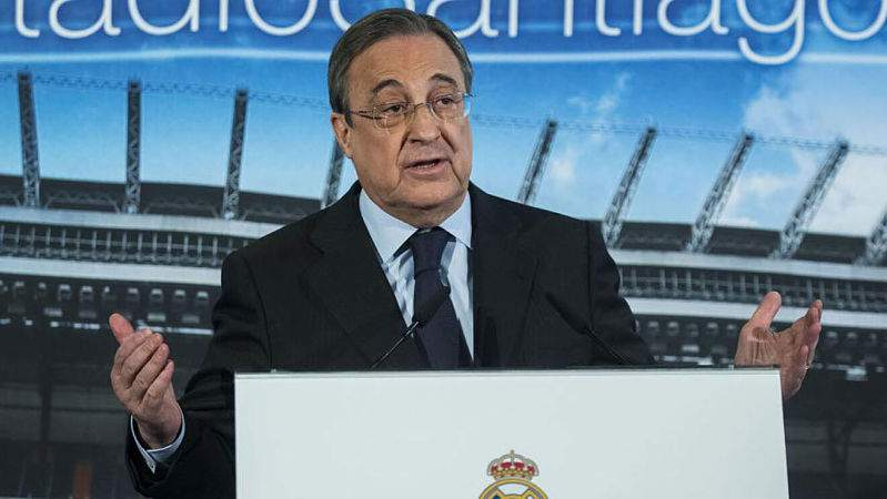 El contrato que Florentino Pérez negocia para la liga española