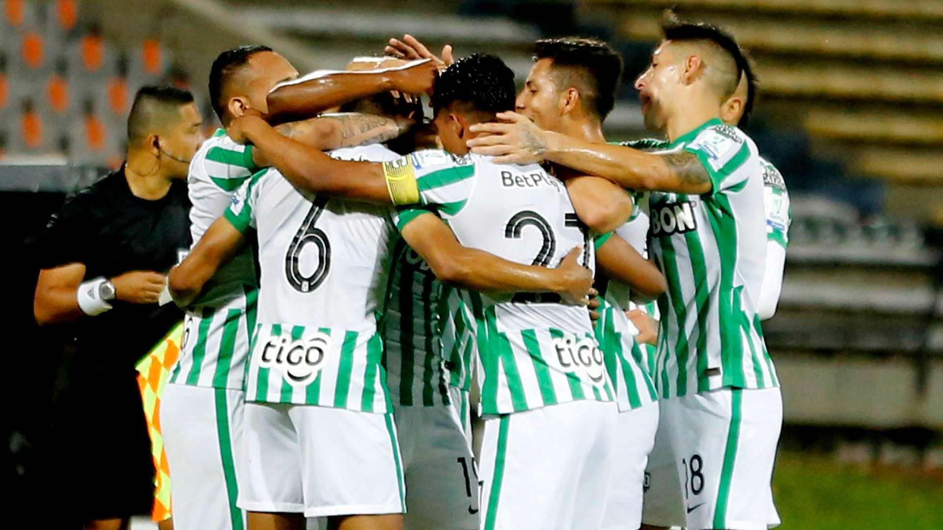 ¿Cuántas veces ha superado la fase de grupos de Libertadores Atlético Nacional?