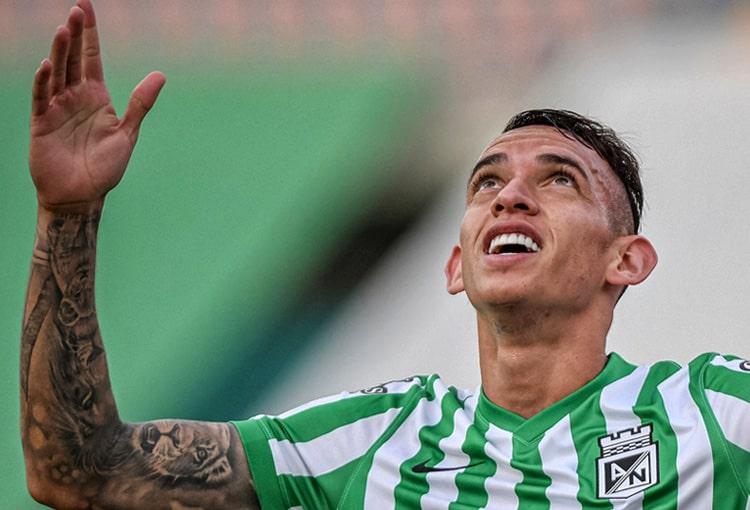 Neyder Moreno, Atlético Nacional, Atlético Bucaramanga, fichajes Atlético Nacional 2021-II