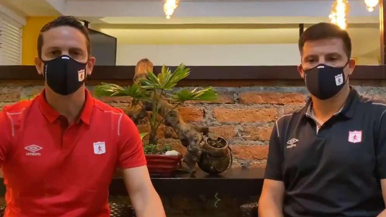 Oficial América de Cali anunció la salida de Juan Cruz Real