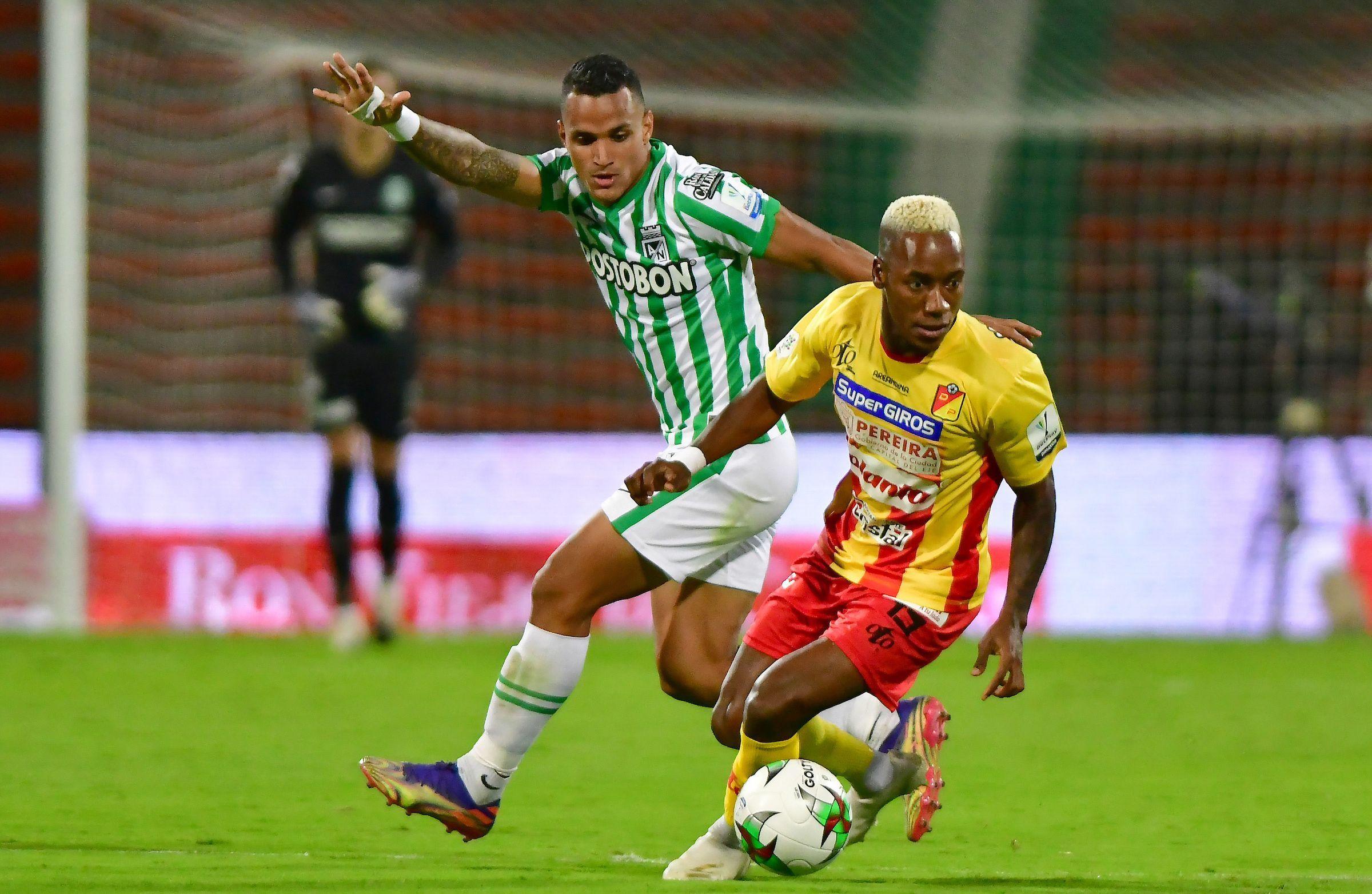 La bienvenida del Deportivo Pereira para Atlético Nacional en su estadio