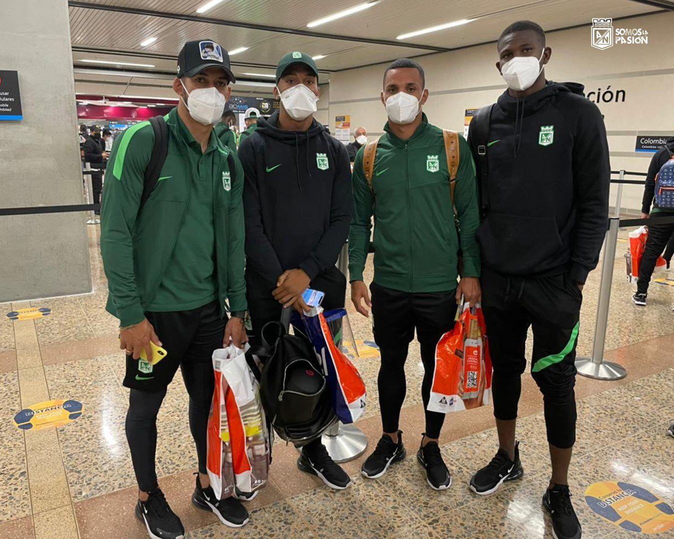Atlético Nacional y su maratónico viaje hacia Paraguay