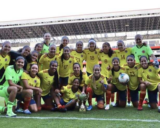 Póker de goles de Usme en el triunfo de la Selección Colombia