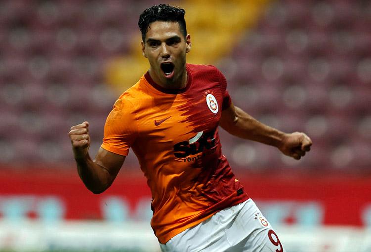 Radamel Falcao García, Galatasaray SK, Superliga de Turquía 2020-21, Selección Colombia