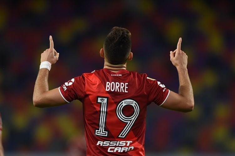 Reapareció Rafael Borré en el triunfo de River Plat