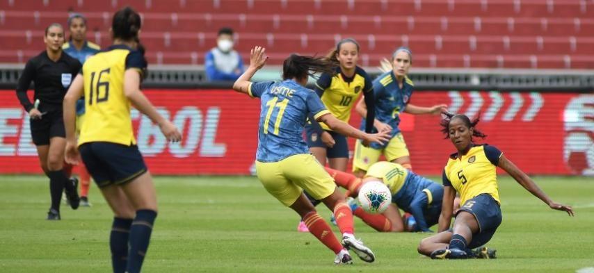 Selección Colombia Femenina continúa su preparación para la Copa América 2022