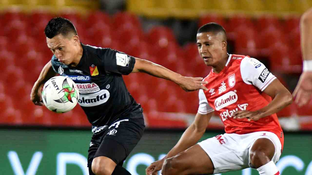 Santa Fe logró rescatar un empate ante Deportivo Pereira