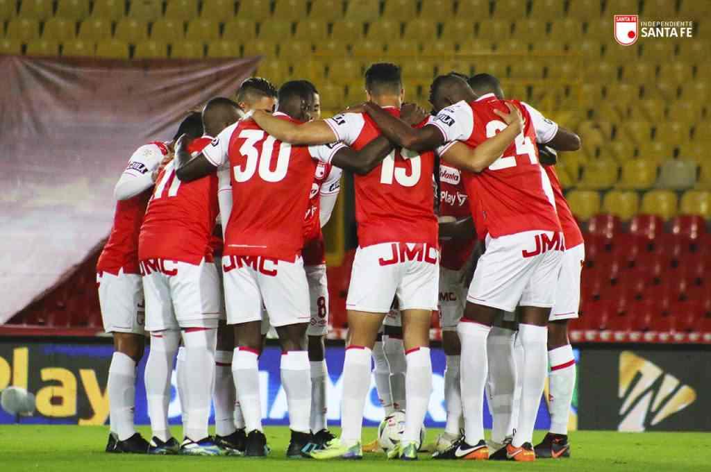 Santa Fe y su favorable sorteo en la Liga BetPlay pensando en la Copa Libertadores