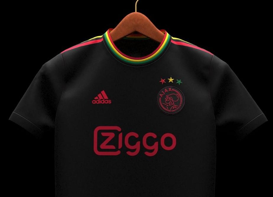 Camiseta especial del Ajax en honor a Bob Marley