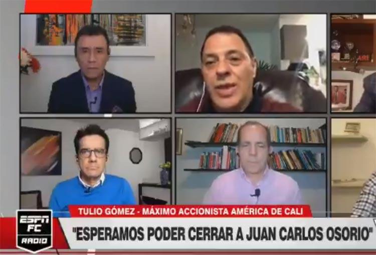 ¿Puede ser Juan Carlos Osorio el DT de América? Respondió Tulio Gómez