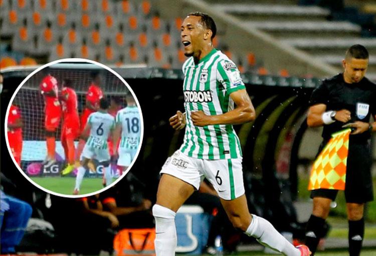 Michael Chacón y los recientes goles de tiro libre en Atlético Nacional