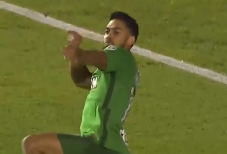 El gol del Rifle Andrade con Atlético Nacional al Club Nacional