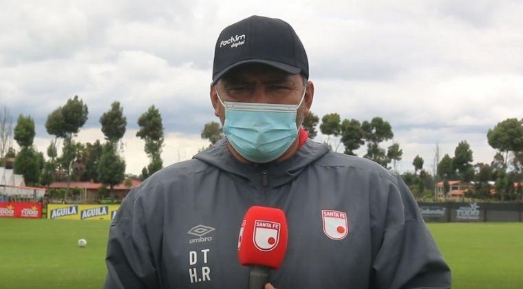 Harold Rivera habló de lo apretada que se puso la Liga BetPlay y el duelo ante Pereira