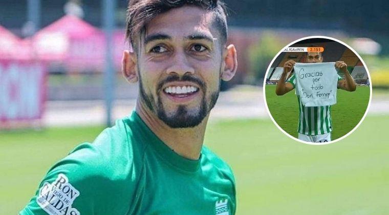 Andrés 'Rifle' Andrade y la emotiva razón de su celebración tras el gol ante Envigado