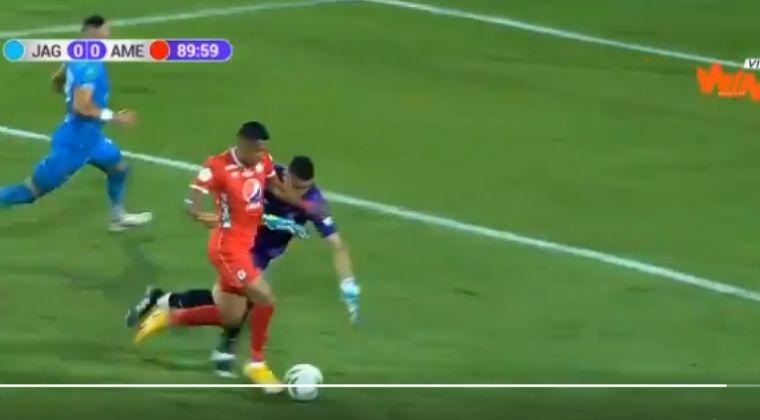 ¡No hay explicación! Lo que botó Luis Sánchez en el Jaguares vs. América de Cali