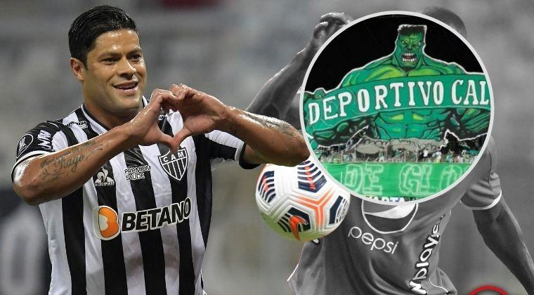 Gol de Hulk con Atlético Mineiro ante América de Cali y los memes no se hicieron esperar