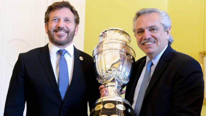 """Presidente de Argentina: """"Nosotros podemos organizar toda la Copa América"""""""