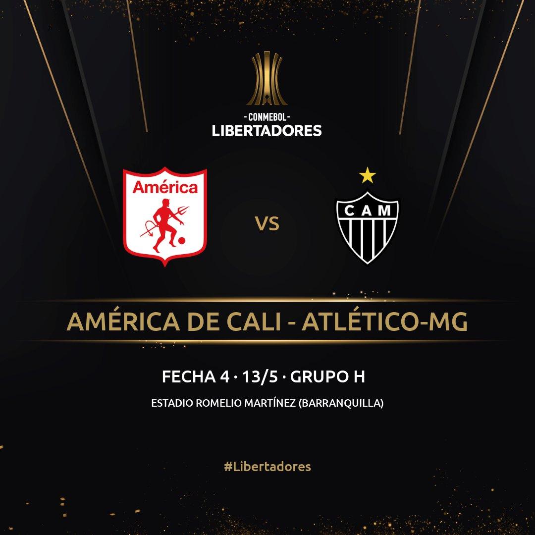 América de Cali, Atlético Mineiro, Copa Libertadores 2021
