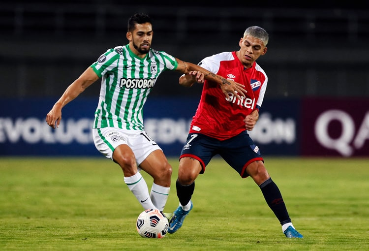 Atlético Nacional, Club Nacional de Football, Copa Libertadores 2021