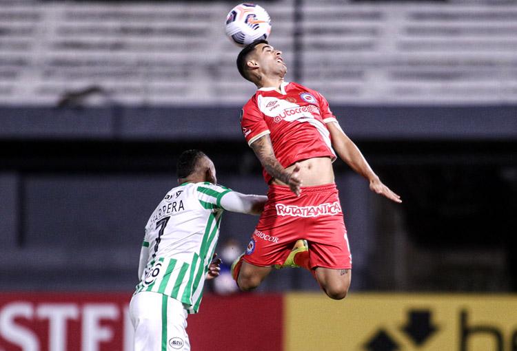 Atlético Nacional, Copa Libertadores 2021, Argentinos Juniors