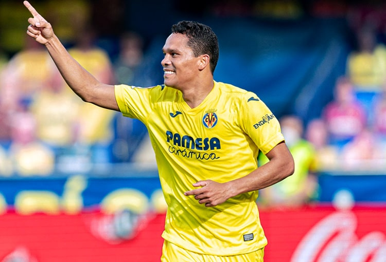 Carlos Bacca, Villarreal CF, Sevilla FC, LaLiga 2020-21