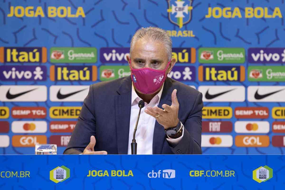 Convocatoria de Brasil para las fechas 7 y 8 de las Eliminatorias
