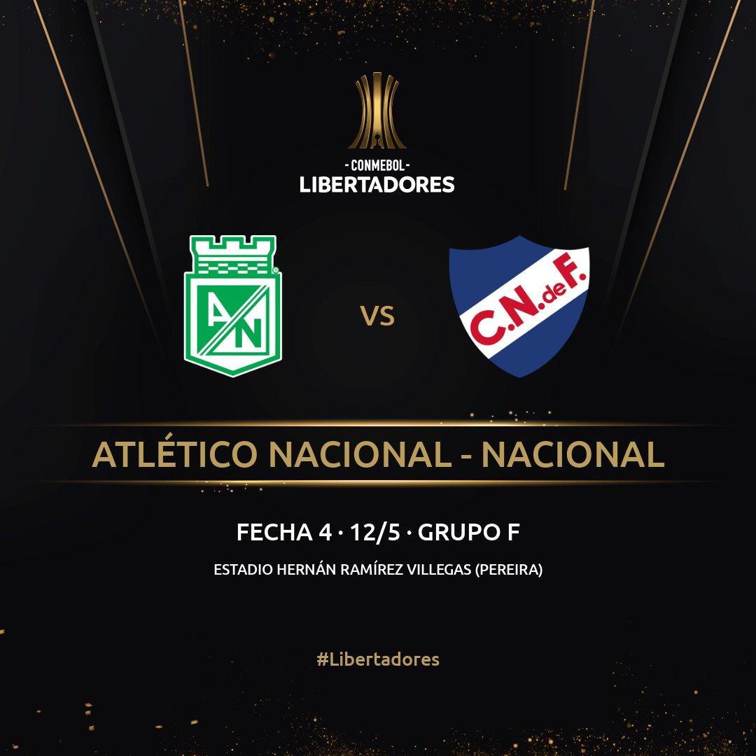 Copa Libertadores 2021, Atlético Nacional, Club Nacional de Football