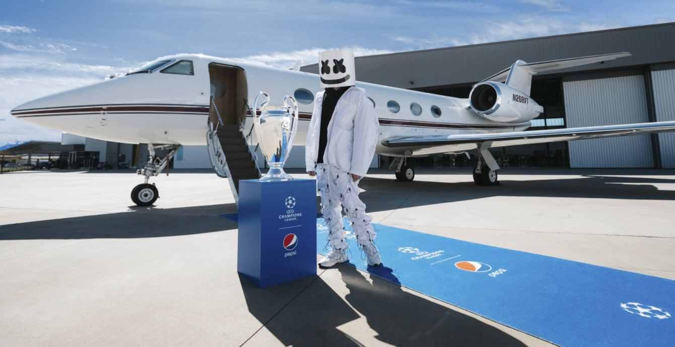 DJ Marshmello estará en la final de la Champions League
