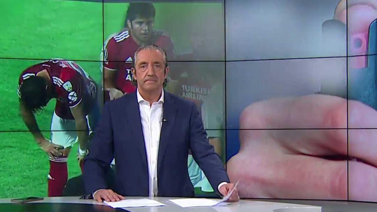 En El Chiringuito mostraron lo que pasó durante el juego entre Junior y River Plate
