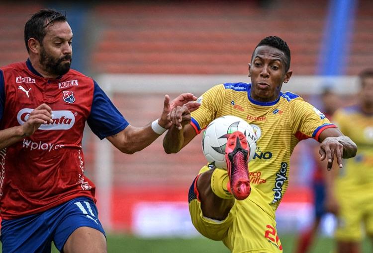 Esneyder Mena, fichajes DIM 2021-II, Deportivo Independiente Medellín, DIM, Deportivo Pasto
