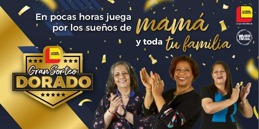 Gran Sorteo Dorado, Lotería de Bogotá. Resultado 15 de mayo 2021