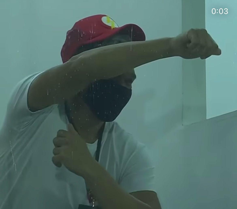 Teófilo Gutiérrez y un gesto en honor a su exequipo River Plate