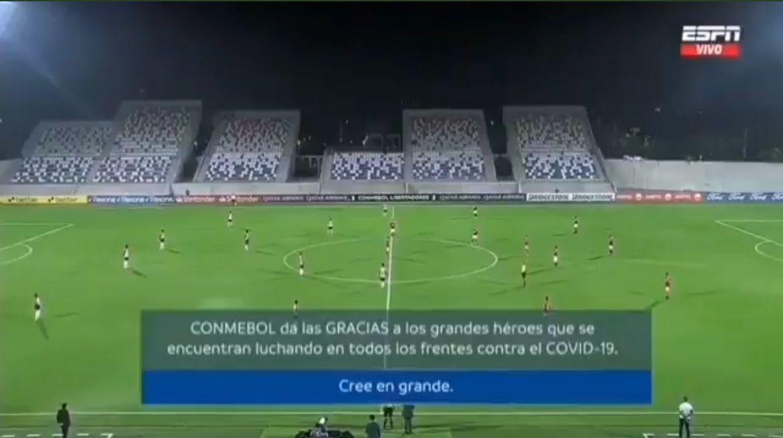 ¿El peor minuto de silencio de la historia del fútbol?