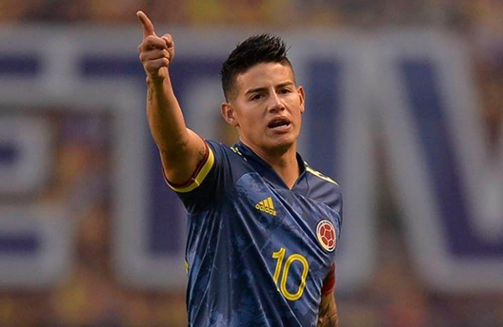 James Rodríguez: ¿Recuperándose para la Selección Colombia?