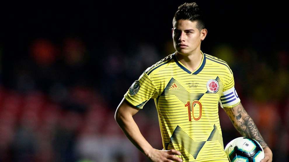 """James sobre Selección Colombia: """"Tienen que ir al Mundial. Estoy haciendo fuerza para que vayan"""""""