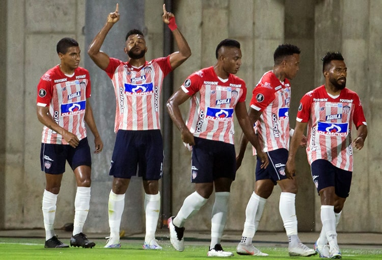 Junior FC, Copa Libertadores 2021, Fluminense