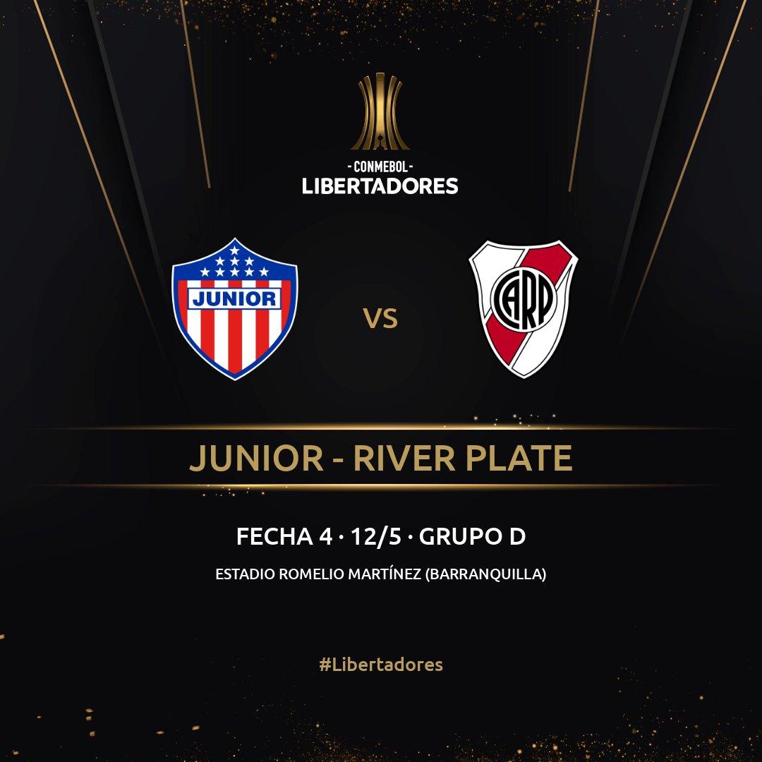 Junior FC, Copa Libertadores 2021, River Plate