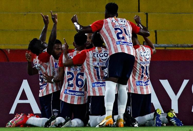 Junior FC, Fluminense, Copa Libertadores 2021