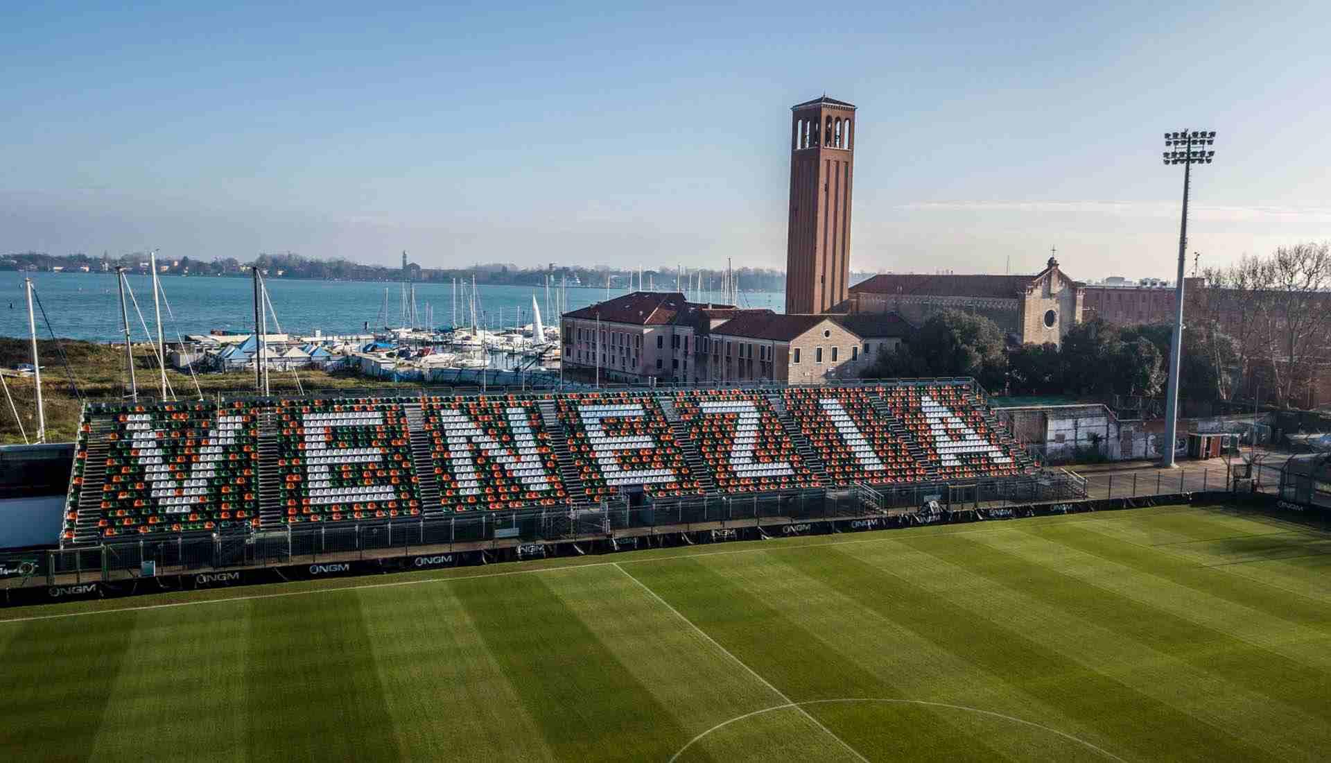 La linda travesía de visitar el estadio del Venezia FC