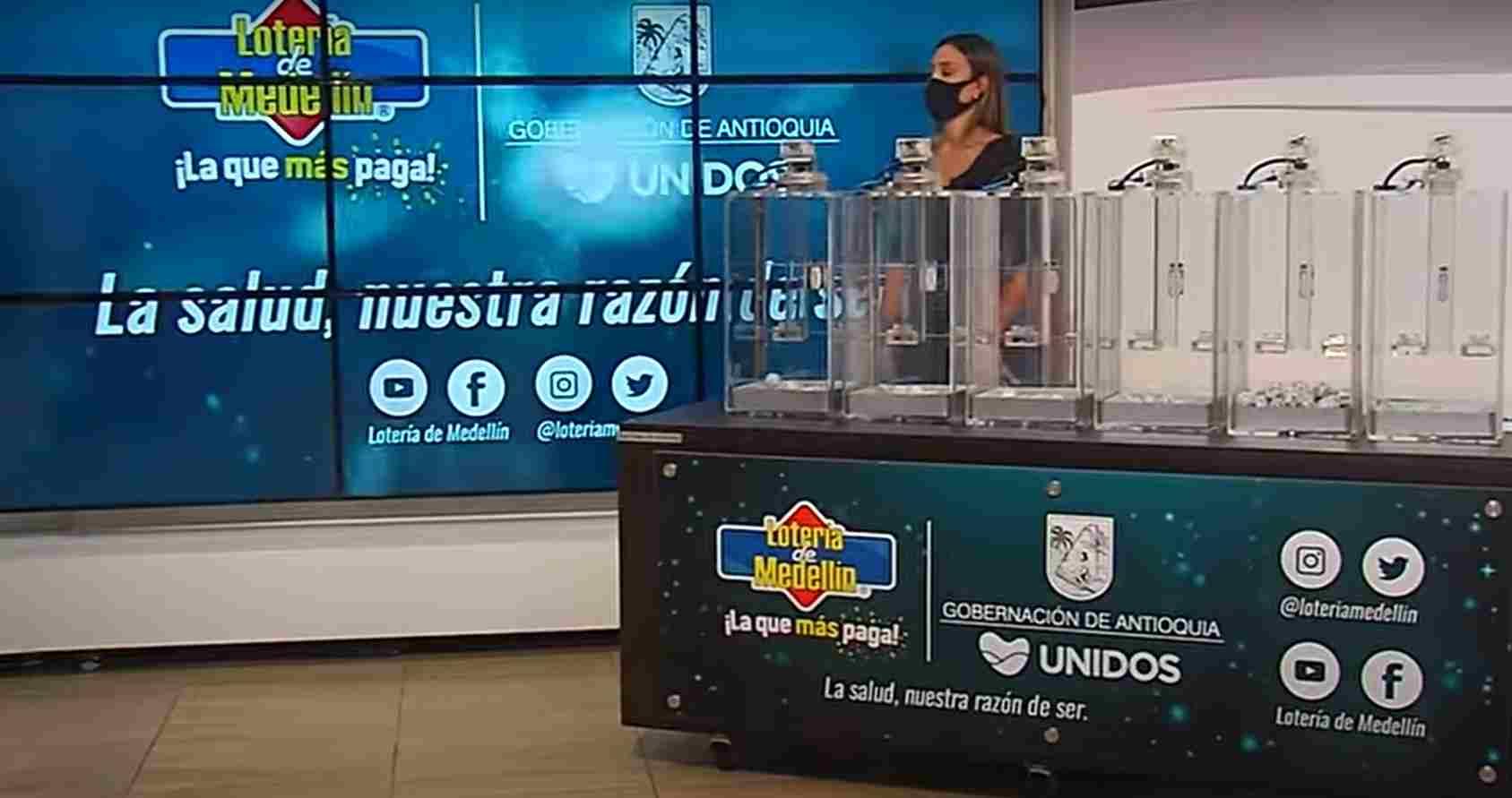 Lotería de Medellín. Resultado sorteo viernes 14 de mayo 2021