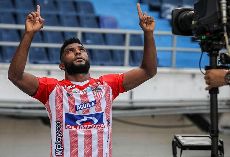 Miguel Ángel Borja, Junior FC, Copa Libertadores 2021