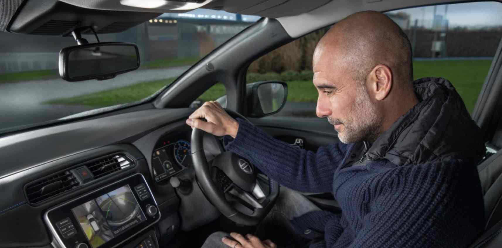 Nissan activa patrocinio a la Champions League con Pep Guardiola