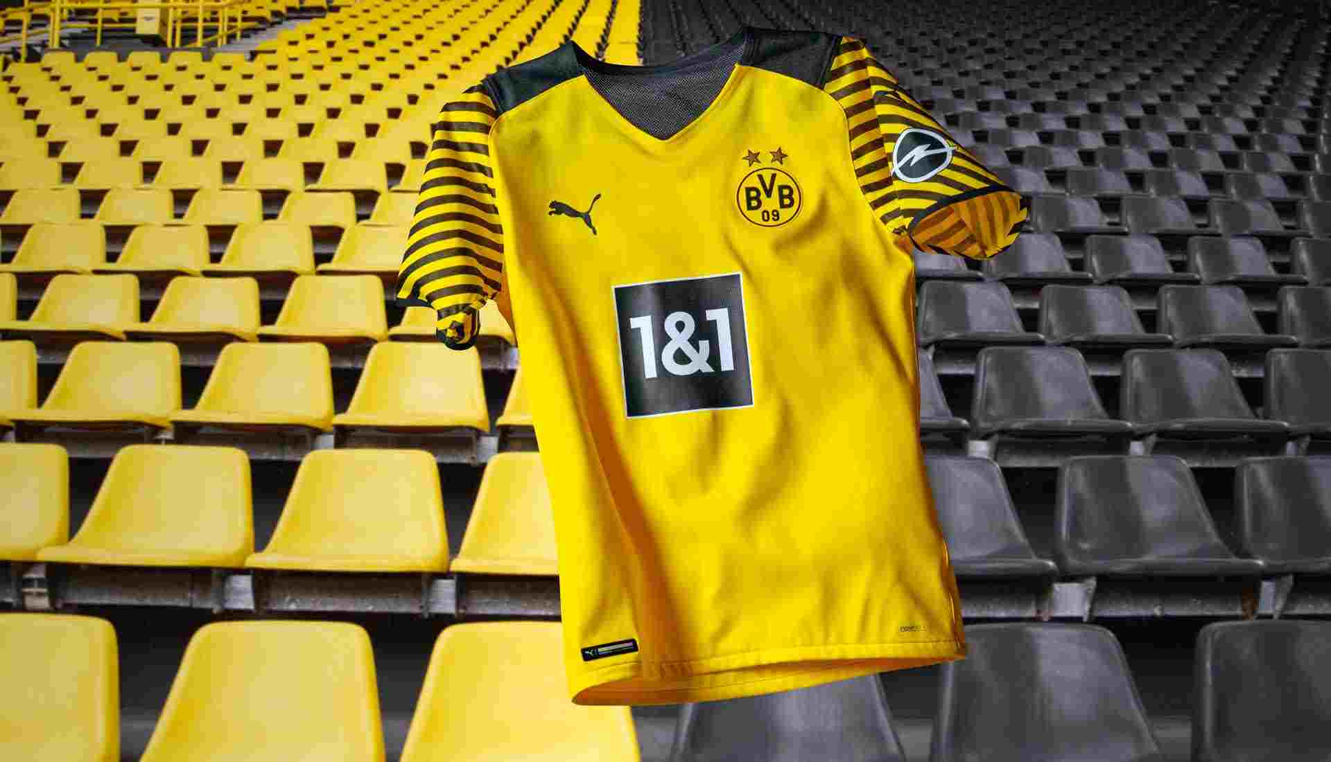 PUMA lanza la camiseta local del Borussia Dortmund 2021/2022