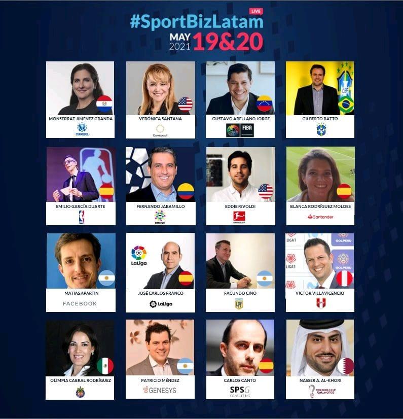 SportBiz Latam speakers